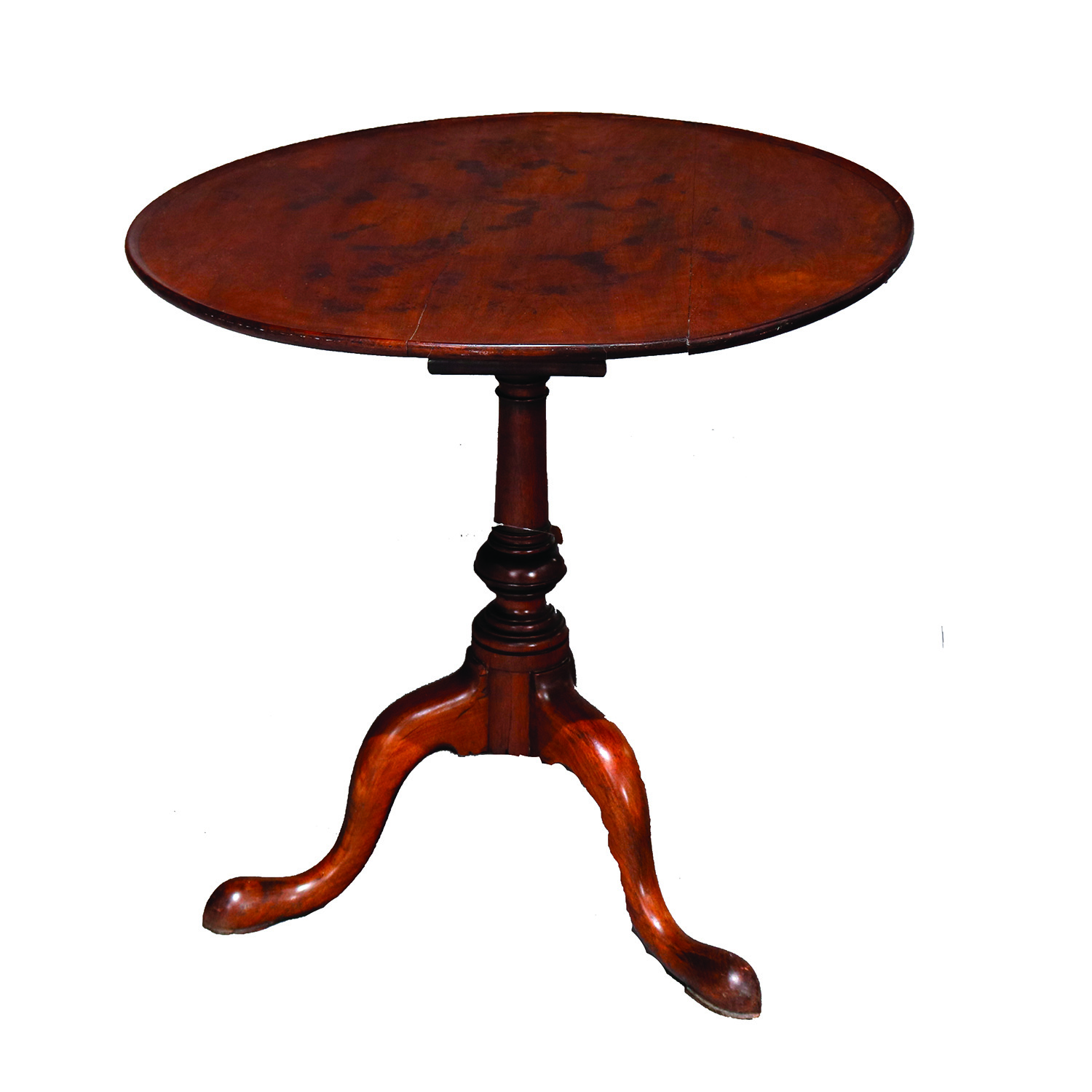 18th-C-Philadelphia-Queen-Anne-Mahogany-Tilt-Top-Table